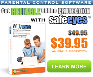 20% off on Safe Eyes Parental Control Software
